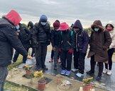 不避諱死亡 彰化社大樂齡學員參觀樹葬和野餐