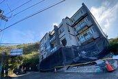 清境4層樓違建民宿 強制拆除