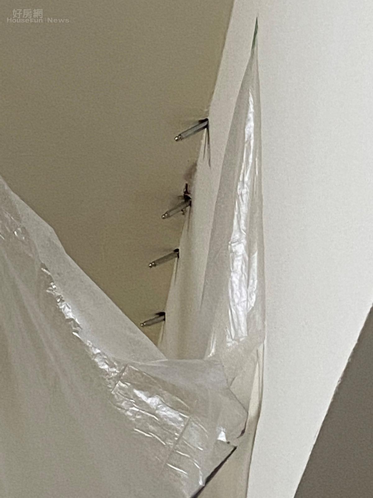 頂樓的房子容易漏水,目前多採「打針」(高壓灌注藥劑)的方法處理。好房網News記者楊欽亮 / 攝