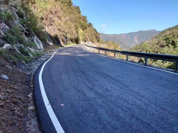 石磊道路、司馬庫斯道路和李埔部落道路20日順利完工啟用。圖/新竹縣政府提供