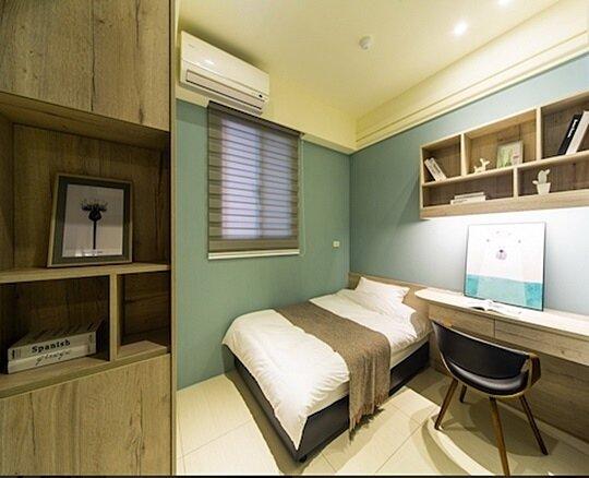 房間光線與通風充足,動線設計也佳/創意家行銷提供