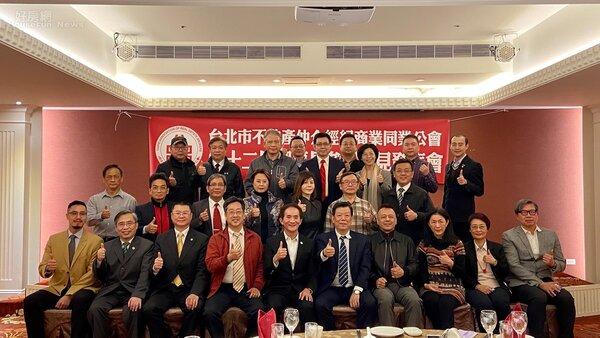 朱玟諺參選台北市仲介公會理事長誓師大會。  好房網News記者楊欽亮 / 攝