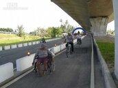 屏東國道3號二高橋下 南州至林邊段自行車道通車