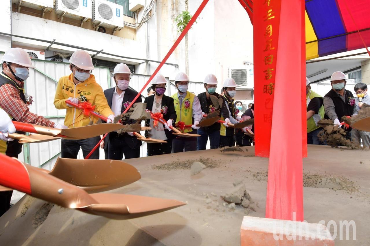 彰化縣府與彰化市公所共同促成下,在太平街興建7里共用的中央聯合里辦公室。圖/聯合資料照
