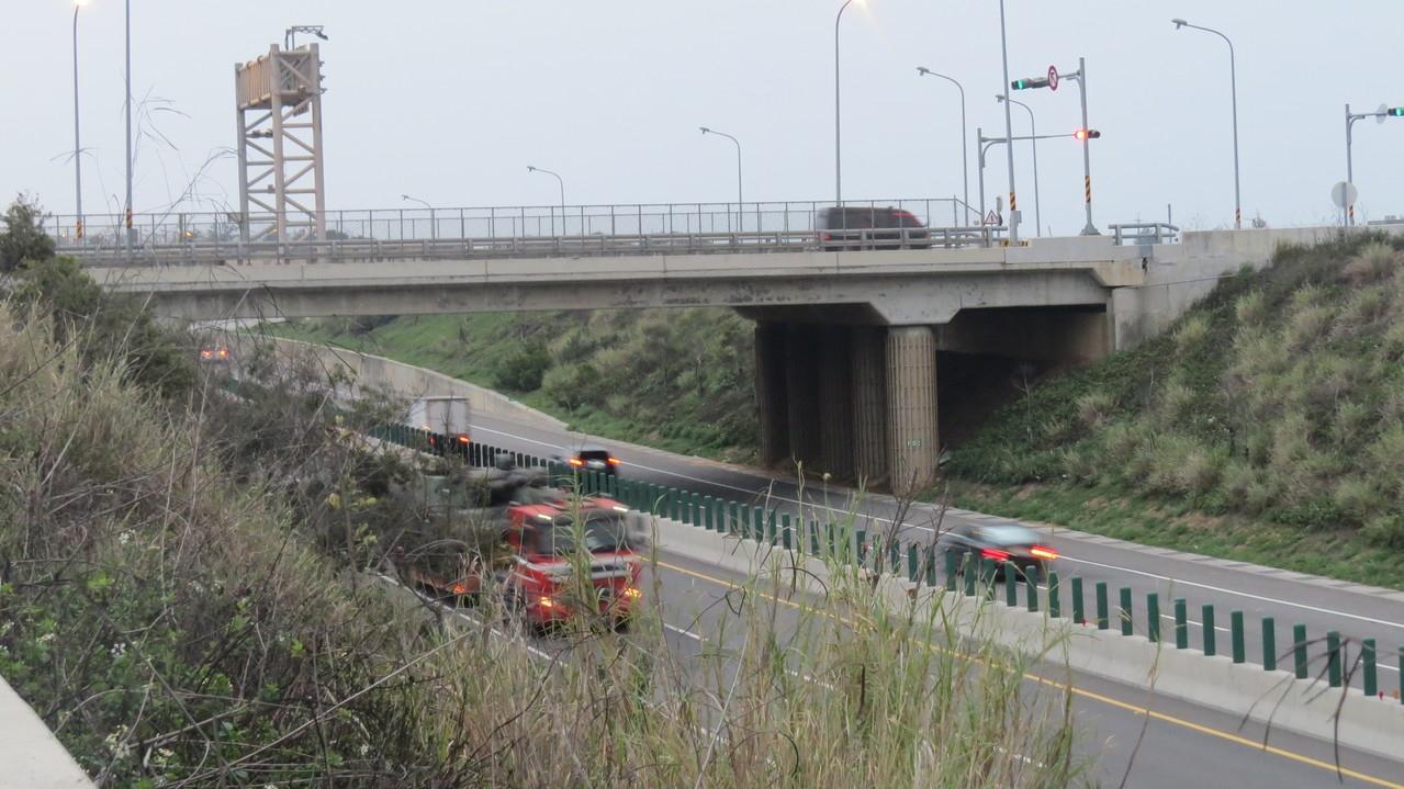 台61線西濱快速道路苗栗通霄、苑裡路段,目前沒有固定式測速裝置運作。圖/聯合資料照