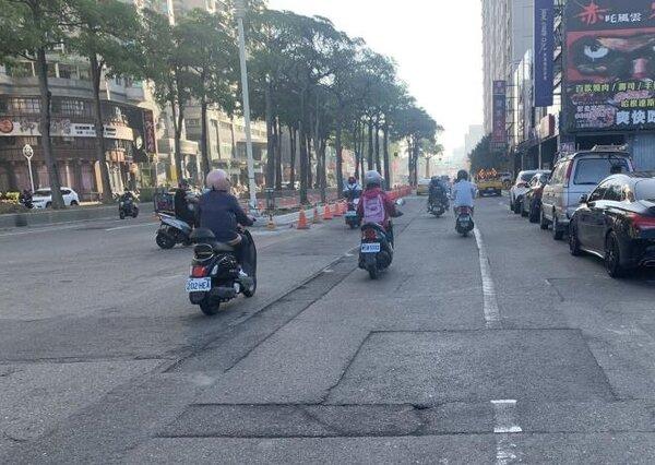 台南市公園南路(西門路~海安路)將於23日進行道路優質化工程。圖/台南市工務局提供
