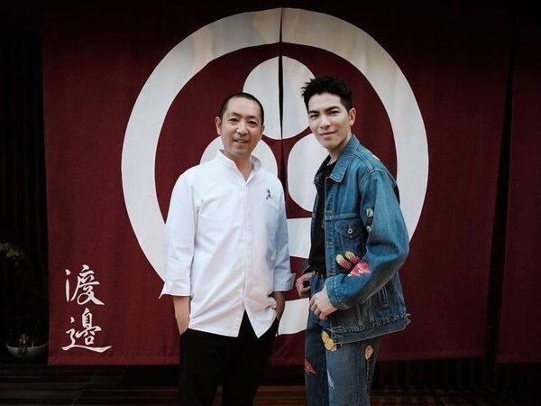 金曲歌王蕭敬騰再拓美食事業版圖,選在東區216巷開設高檔日本料理店「渡邊」。圖/喜鵲娛樂提供