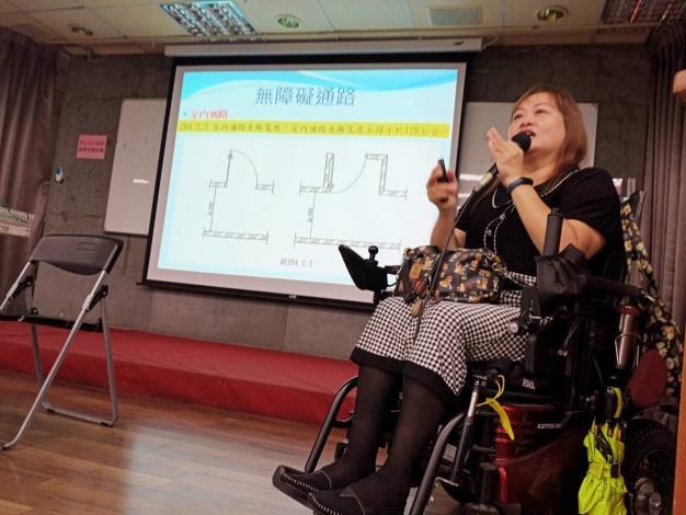 無障礙空間意識抬頭,台南研議改善公共建築。圖/台南市政府提供