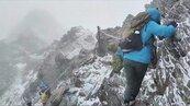 步道結冰比積雪更危險 玉山統計今年山難增3倍