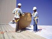 固黏氈 解決鋼板屋頂4痛點