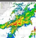 台南、高雄、屏東淹水1級警戒! 鄭明典:這條雨帶很強