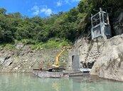 15年了 為這攔汙柵石門水庫分層取水工程今天才算完工