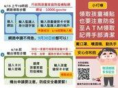 未滿2歲兒童家庭防疫補貼今起入帳 台南逾2萬孩童受惠