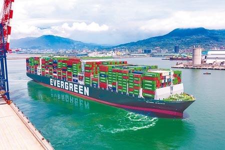 貨櫃航運產業持續暢旺,法人估長榮2021年將賺超過一個股本。(圖/長榮海運)