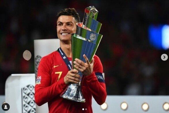 葡國當家球星C羅(Cristiano Ronaldo)。圖/取自Cristiano Ronaldo Instagram 帳號