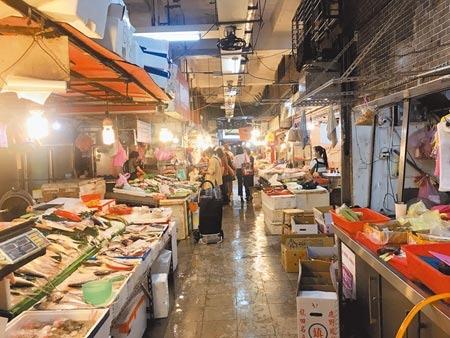 若疫情持續穩定,基隆市成功、仁愛市場將分別於23、24日復市。圖/中時資料照