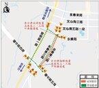 台中13期重劃區施工 部分路段全線封閉250天