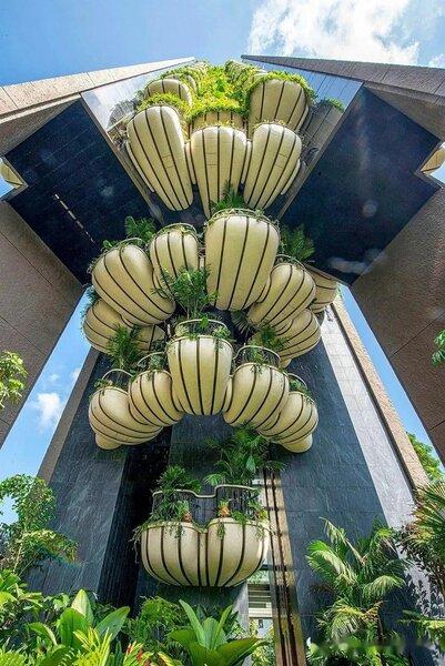 新加坡豪宅建案EDEN。圖/取自網路