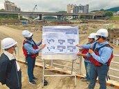新碧潭堰進度超前 明年10月完工