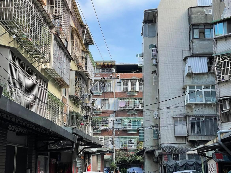 公寓、中古屋、老屋、老房。圖/好房網News記者呂詠柔攝