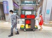 桃醫進駐首日 逾180名華航員工接種