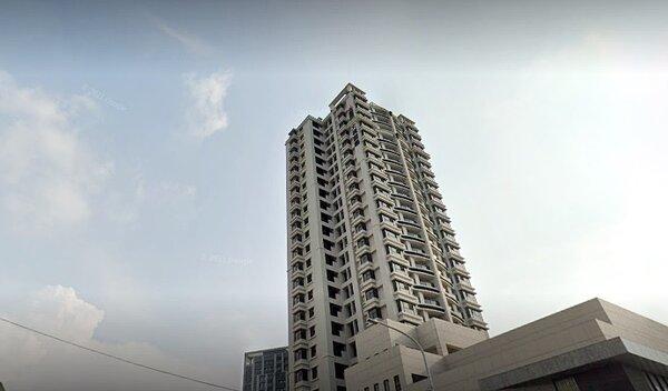 台中單元3重劃區永春東七路上最高樓層新案大樓「大境豐藝」,今年五月交易的3樓戶,以1910萬元成交,讓持有僅一年多的賣方賺了282萬元。圖/google map
