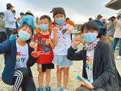 小琉球海灘貨幣夯 中秋淨灘現人潮