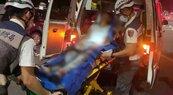 高雄剛放完國慶焰火 深夜1男疑行車糾紛遭砍傷