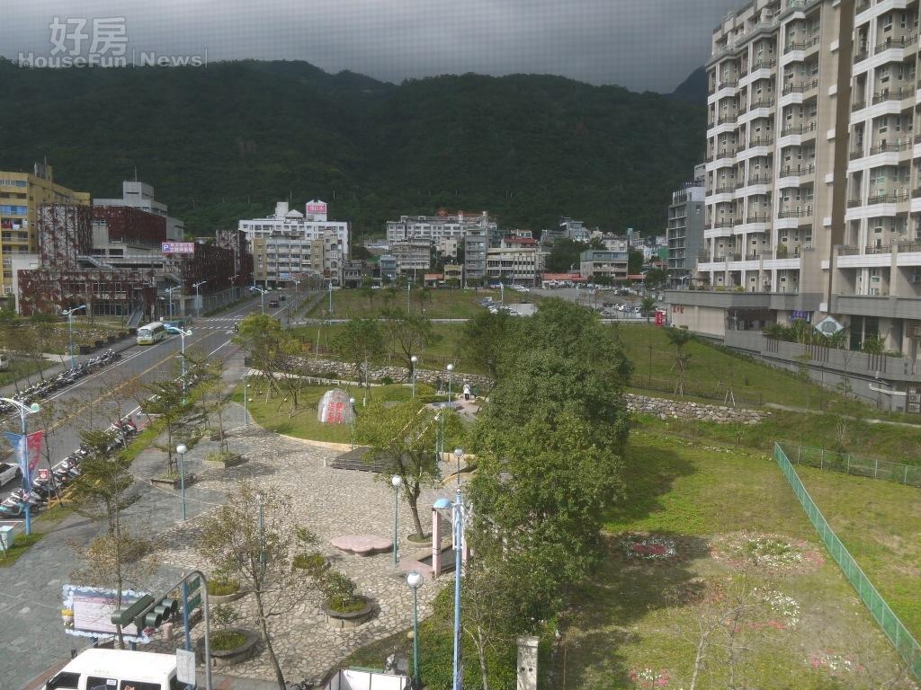 觀光人潮帶動礁溪的土地行情,成為東台灣房市新亮點,圖為台電公司的礁溪土地。(高力國際提供)