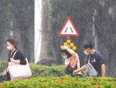 西南氣流+午後對流!北北基南高屏豪雨 12縣市大雨