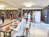 桃園防疫旅館設採檢站 減少移動風險
