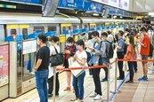 北捷運量回升6成 達121萬人次