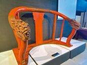 台南大天后宮媽祖近200年歷史舊椅 修復典藏