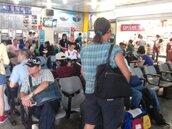 雲嘉地區淹大水 彰化火車站人滿為患