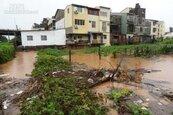 沙鹿淹大水 中市府儘速確定南山截水溝計畫
