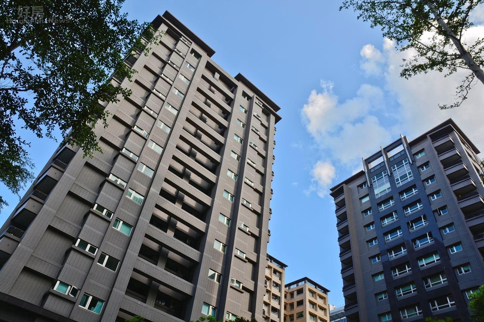 南港區R13重劃區大樓住宅情境照。(好房News記者 陳韋帆/攝影)