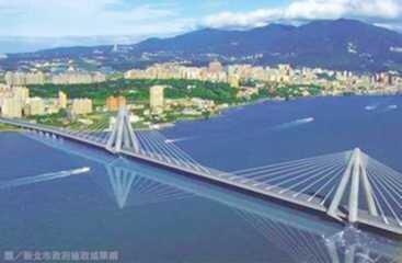 淡江大橋準蓋了!此為示意圖。(圖/好房資料中心)