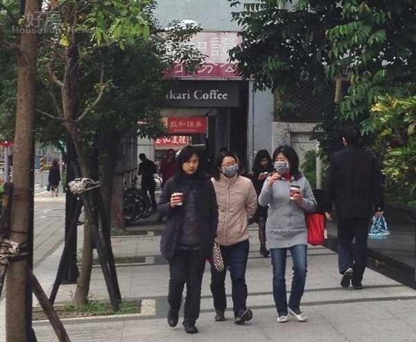 寒流 冬天 情境照 (好房News記者李玲玲/攝影)