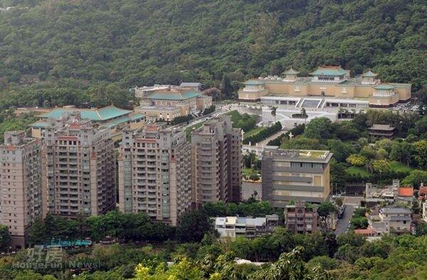 陽明山有超過百棟美軍宿舍,多數產權屬於台灣銀行。(圖/好房資料中心)