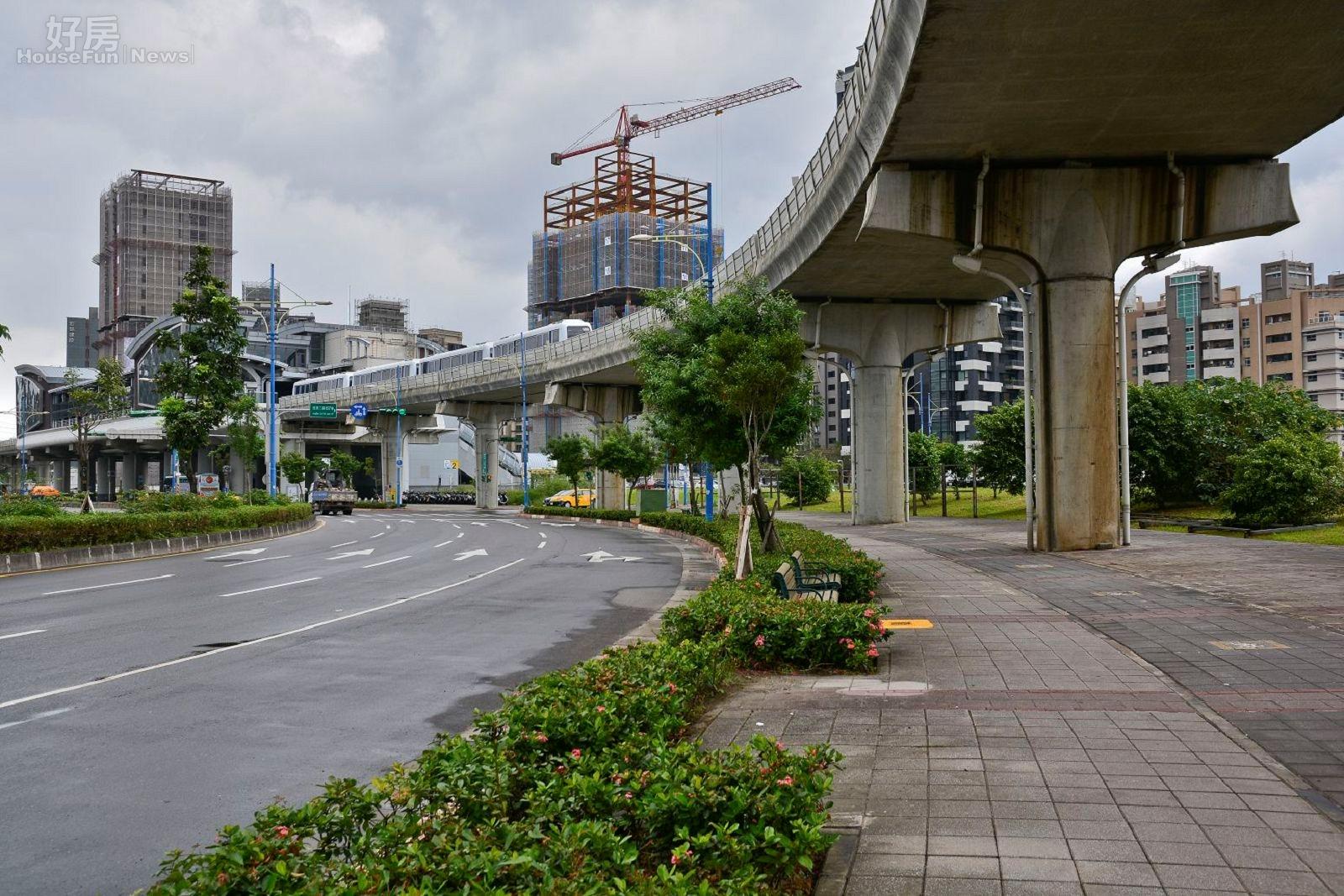 捷運南港軟體園區站,捷運宅。(好房News記者 陳韋帆/攝影)