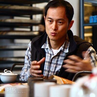 8.在「大溪老茶廠」服務20多年的林炳宏經理,未來要讓附近茶園復耕,再現茶鄉榮景。