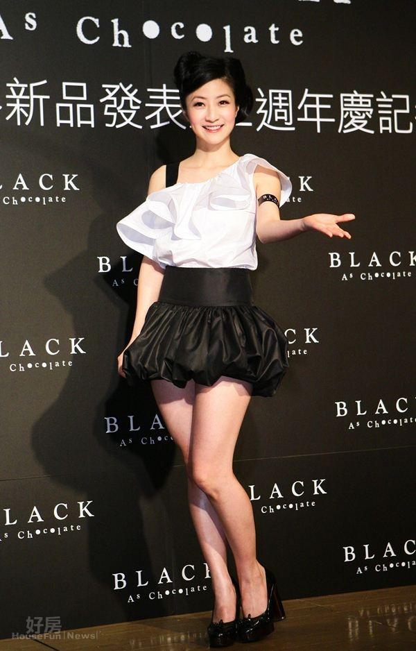 1.黃湘怡從歌手轉戰成巧克力蛋糕達人。
