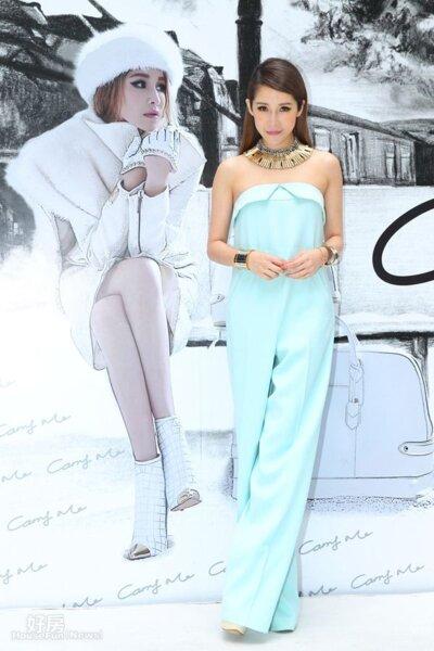 1.Elva除了歌手身分,也自創品牌成為商場女強人。