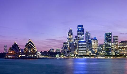 圖為澳洲雪梨房市。