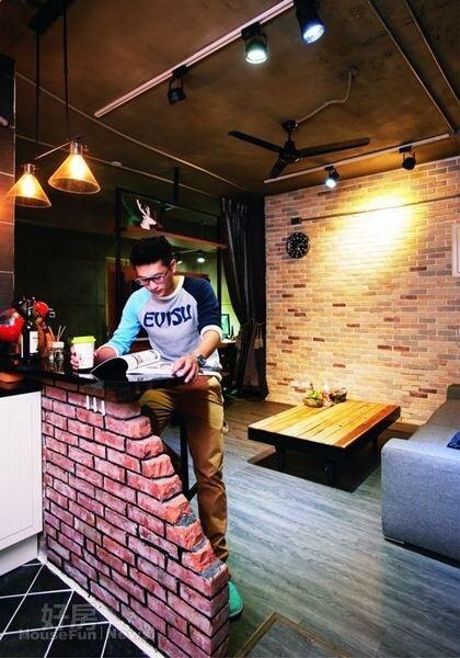 7. 曾從事家具設計的Syuan,對於空間規劃很有自己的主見。