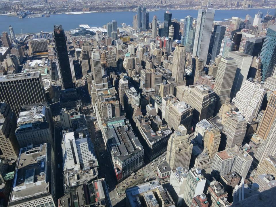 高度發展的美國紐約,大樓林立 (好房News記者林美欣攝影)
