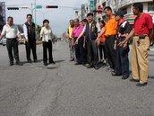 路面老化破損 大雅中清路8月前完成修復