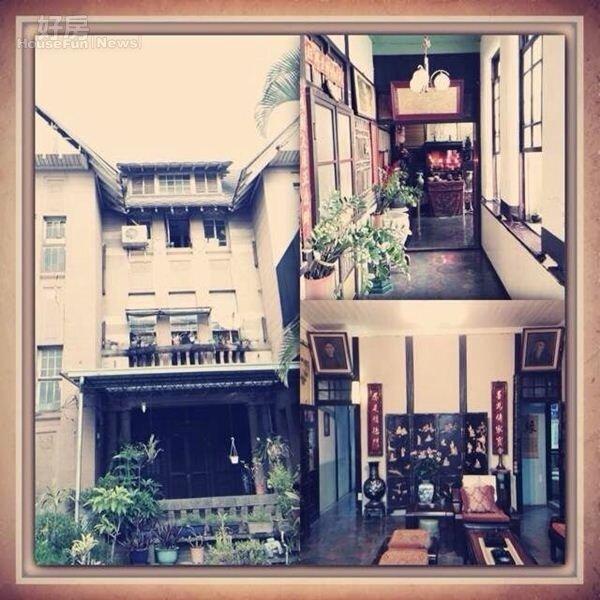 2.翁家的百年老宅為三層樓建築,現在已傳到第四代。
