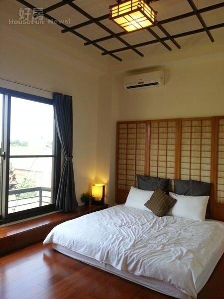 5.一樓的客房走日式風,可當老人家起居室或親子房。