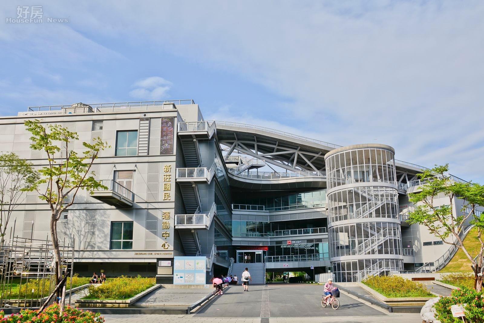 新北市府積極推廣國民健康運動,於新北各區建設國民運動中心。(好房News記者 陳韋帆/攝影)